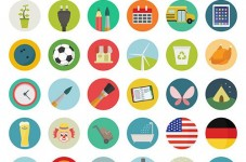 Free icon set for user badges