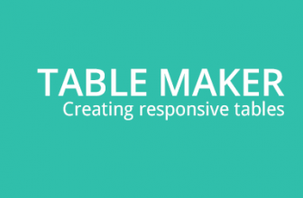 Add responsive comparison table to wordpress